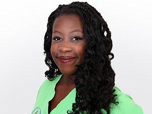 Chirurgische Assistentin Sarah Adjei