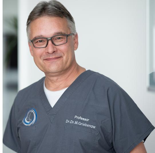 Mund-Kiefer- und Gesichtschirurg Dr. Griebenow